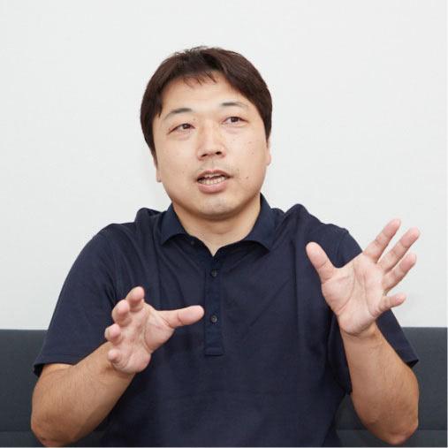 佐々木 功介|技術部 部長 2014年入社